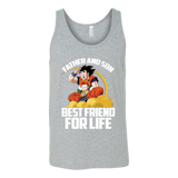 Super Saiyan Goku and Gohan Father and Son Day Unisex Tank Top T Shirt - TL00477TT