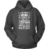 I'm not just a redhead i'm a big cup of wonderful govered in awesome sauce with a splash sassy and a dash of crazy Unisex Hoodie T Shirt - TL00673HO