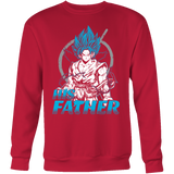 Super Saiyan Goku God Dad T Sweatshirt Shirt - TL00486SW