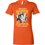 Super Saiyan Hawaii Woman Short Sleeve T shirt - TL00094WS