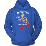 Super Saiyan Vegeta Gym Lift Up Unisex Hoodie T shirt - TL00463HO