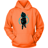 SUPER SAIYAN VEGETA GOD BLUE HOODIE SHIRT - TL00173HO