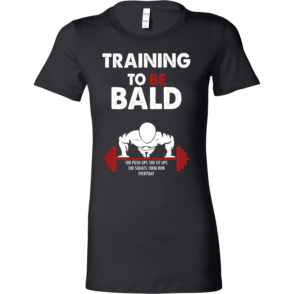 One Punch Man - Saitama Training to be bald - Woman Short Sleeve T Shirt - TL00917WS
