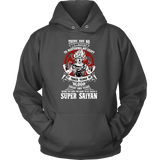 Super Saiyan Unisex Hoodie T shirt - GOKU TRAINING TO GET YOUR TITLE - TL00045HO