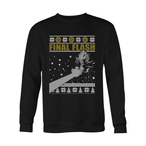 Super Saiyan - Vegeta final flash - Unisex Sweatshirt T Shirt - TL01024SW
