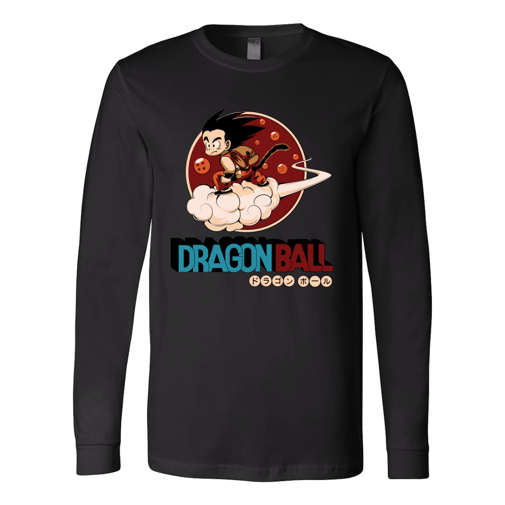 Super Saiyan Goku Long Sleeve T shirt- TL00252LS