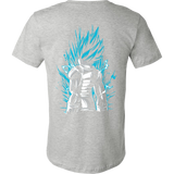 Super Saiyan God Blue Vegeta Men Short Sleeve T Shirt - TL00021SS