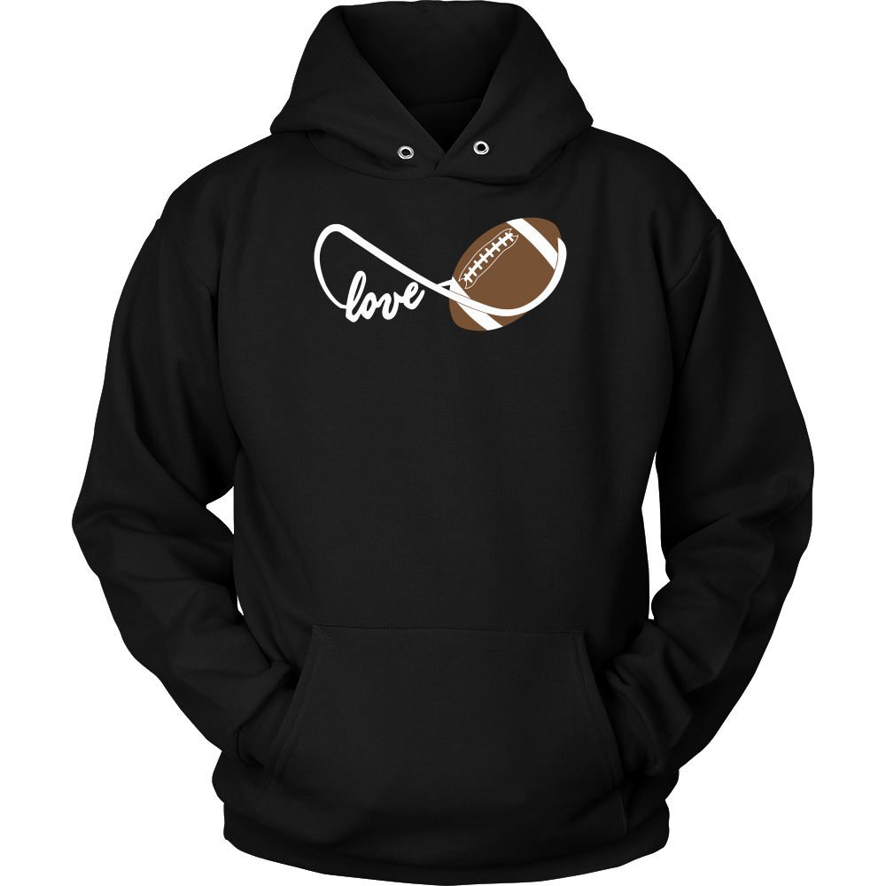 Football infinity Love Unisex Hoodie T Shirt - TL00664HO