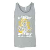 Super Saiyan - Ssj Vegeta protect family - Unisex Tank Top T Shirt - TL00887TT