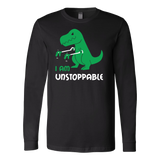 Dinosaur - I am unstoppable - Long Sleeve T Shirt - TL00845LS - The TShirt Collection