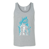 Super Saiyan God Blue Vegeta Unisex Tank Top T Shirt - TL00021TT