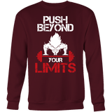 Super Saiyan Goku Push Beyond Your Limits Sweatshirt T shirt - TL00526SW