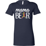 Nurse- mama bear -women short sleeve t shirt-TL00865WS