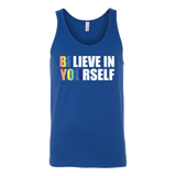 LGBT- Believe in yourself - Unisex Tank Top T Shirt - TL00986TT