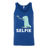 Dinosaur - Selfie - Unisex Tank Top T Shirt - TL00860TT - The TShirt Collection