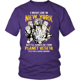 Super Saiyan - New York Group - Men Short Sleeve T Shirt - TL00062SS