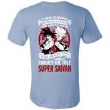 Super Saiyan Goku Men Short Sleeve T Shirt - TL00029SS