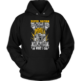 Super Saiyan Unisex Hoodie T shirt - Warriors Goku Fans -TL00047HO