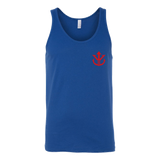 Super Saiyan Red Vegeta Saiyan Crest Unisex Tank Top T Shirt - TL00013TT