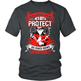 Inuyasha - When A Men Has Someone, He's Gotta Protect His Power Grows Expomentially - Men Short Sleeve T Shirt - TL01332SS