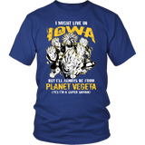 Super Saiyan - Iowa - Men Short Sleeve T Shirt - TL00090SS