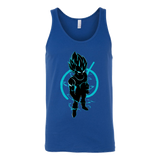 SUPER SAIYAN VEGETA GOD BLUE TANKTOP SHIRT - TL00173TT