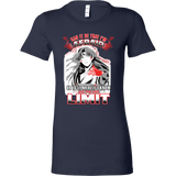 Inuyasha - Sesshoumaru Can It Be That I'm Afraid Or Is It Merely I Know Not My Own Limit - Woman Short Sleeve T Shirt - TL01256WS