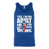 Super Saiyan- yes i m an adult and yes i still watch dragonball - Unisex Tank Top - TL00999TT