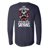 Super Saiyan Vegeta Long Sleeve T shirt - I Can't Keep Calm - TL00058LS