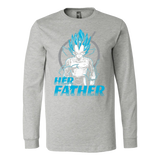 Super Saiyan Vegeta Father And Daughter Long Sleeve T shirt - TL00520LS
