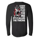 Super Saiyan Majin Vegeta Throne Long Sleeve T shirt - TL00213LS