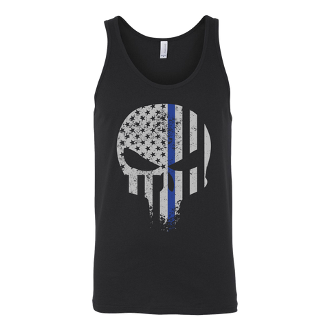 Threadrock Honor & Respect Skullcap Unisex Tank Top T Shirt - TL00638TT