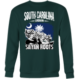 Super Saiyan South Carolina Grown Saiyan Roots Sweatshirt T shirt - TL00154SW