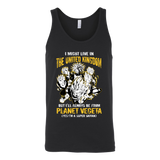 Super Saiyan I May Live in United Kingdom Unisex Tank Top T Shirt - TL00111TT