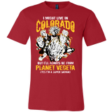Super Saiyan Colorado Men Short Sleeve T Shirt - TL00081SS