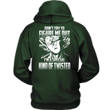 Super Saiyan Majin Vegeta Kind of Twisted Unisex Hoodie T shirt - TL00434HO