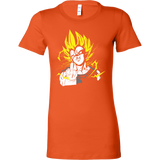 Super Saiyan - They act like they - Woman Short Sleeve T Shirt - TL01209WS
