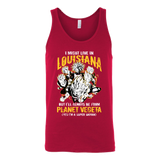 Super Saiyan Louisiana Unisex Tank Top T Shirt -TL00077TT