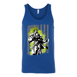 American Super Saiyan Broly Unisex Tank Top T Shirt - TL00001TT - The TShirt Collection