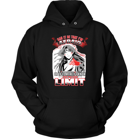 Inuyasha - Sesshoumaru Can It Be That I'm Afraid Or Is It Merely I Know Not My Own Limit - Unisex Hoodie T Shirt - TL01256HO