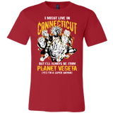 Super Saiyan Connecticut Men Short Sleeve T Shirt - TL00092SS