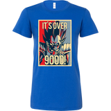 Super Saiyan Vegeta Over 9000 Woman Short Sleeve T Shirt - TL00129WS