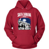 Super Saiyan South Carolina Grown Saiyan Roots Unisex Hoodie T shirt - TL00154HO
