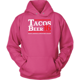 Taco mexican beer 16 Unisex Hoodie Funny T Shirt - TL00610HO