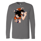 Super Saiyan Goku And Luffy Long Sleeve T shirt - TL00538LS