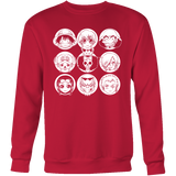 One Piece - Luffy and friends - Unisex Sweatshirt T Shirt - TL00915SW