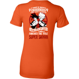 Super Saiyan Goku Woman Short Sleeve T shirt - TL00029WS