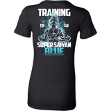 Super Saiyan - Goku Training to go Super Saiyan Blue - Woman Short Sleeve T Shirt - TL00889WS