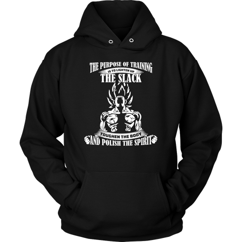 Super Saiyan - The perpose of training - Unisex Hoodie T Shirt - TL01351HO