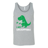Dinosaur - I am unstoppable - Unisex Tank Top T Shirt - TL00845TT - The TShirt Collection